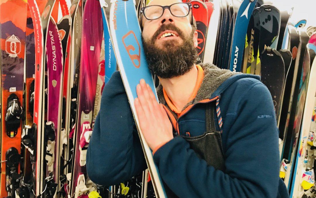 Fin de saison ^^ Vente de ski d'occasion !